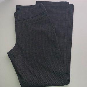 Pull on patterned slacks